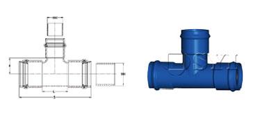 PVC-All-Socket-Tee