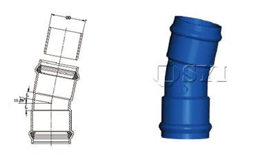 PVC-Double-Socket-Bend